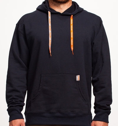 Men's Eco-Friendly Navy Pullover Hoodie