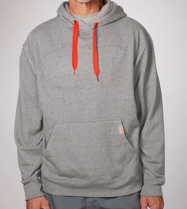 Men's Eco-Friendly Grey Pullover Hoodie