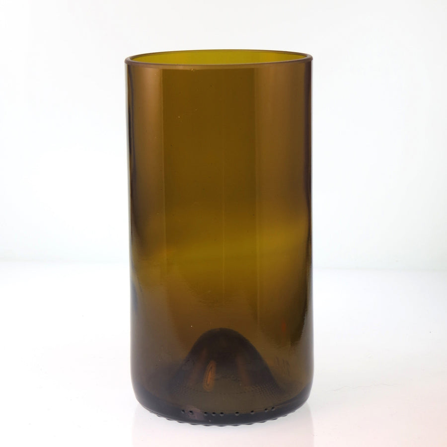 Brown Tall Recycled Bottle Glass