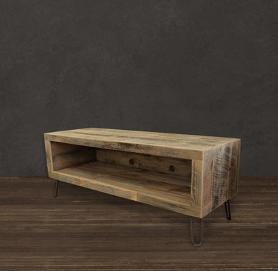 "48"" Reclaimed Wood Media Console"