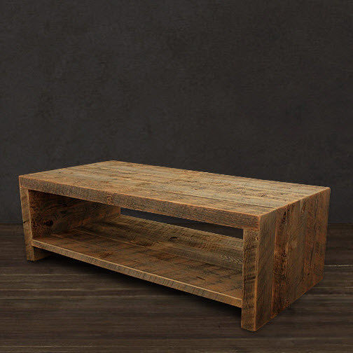 Reclaimed Wood Telluride Coffee Table The Spotted Door