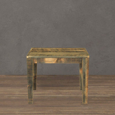 Reclaimed Wood Large Side Table