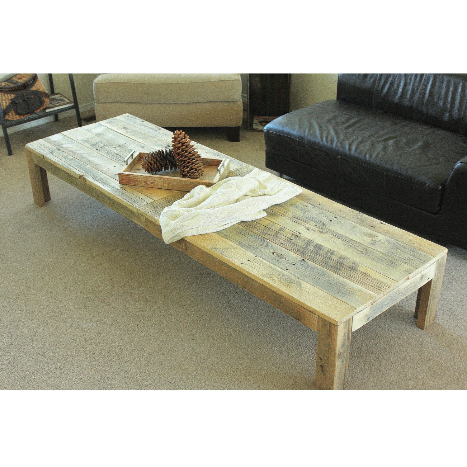Extra Large Reclaimed Wood Coffee Table