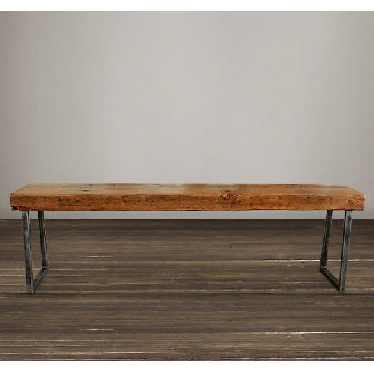 "Atlas Reclaimed Wood 72"" Bench"