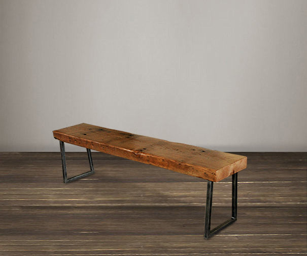 "Atlas Reclaimed Wood 48"" Bench"
