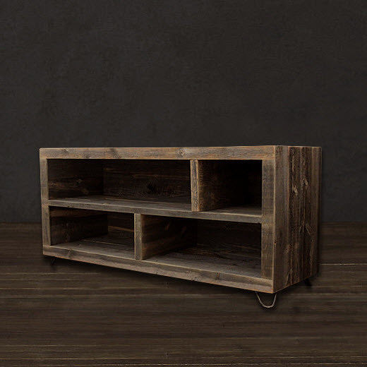 Reclaimed Wood Alamo Bookshelf