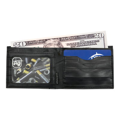 Reclaimed Tire Tube Jackson Wallet Interior
