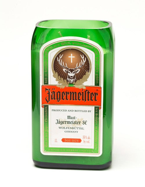 Jagermeister Liquor Bottle Candle