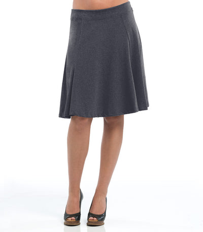 Ladies Anise Skirt - Charcoal
