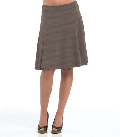 Ladies Anise Skirt - Charcoal/Sand