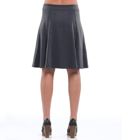 Ladies Anise Skirt - Charcoal (back)