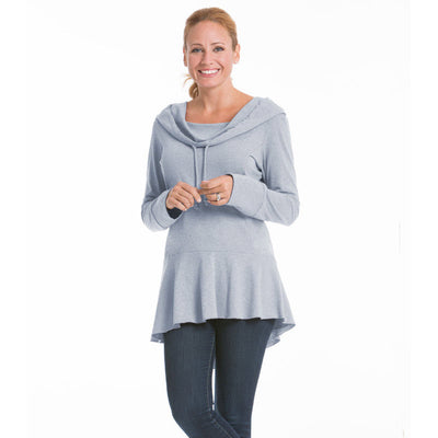 Snapdragon Women's Top - Ash