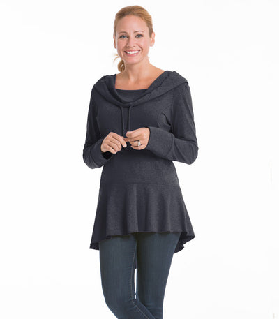 Snapdragon Women's Top - Charcoal