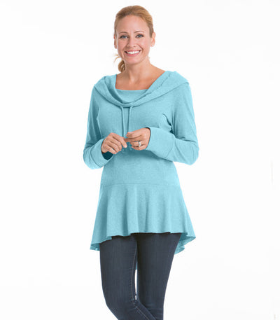 Snapdragon Women's Top - Turquoise