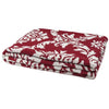 Eco Damask Reversible Throw Blanket (Pom/Milk)
