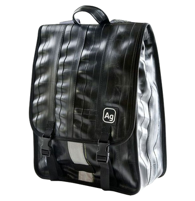 Madison Recycled Rubber Backpack - Black Trim
