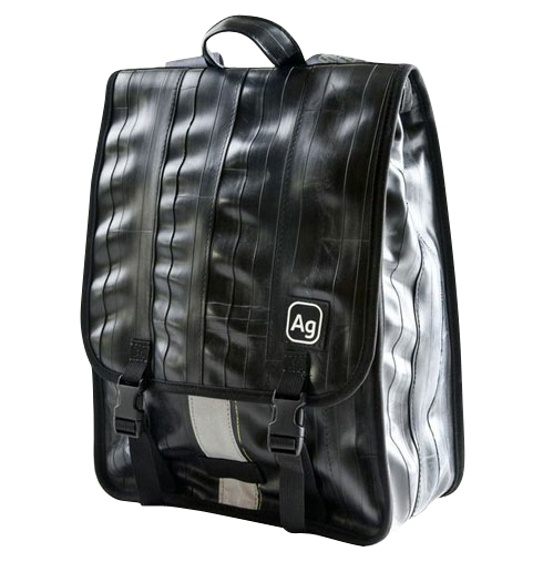 Madison Recycled Rubber Slim Backpack
