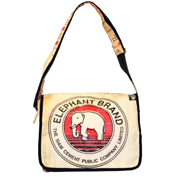 Elephant Branded Messenger Bag