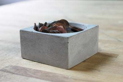 Recycled Cement Mini Bowl