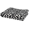 Eco Mod Square Throw Blanket (Black Bold)