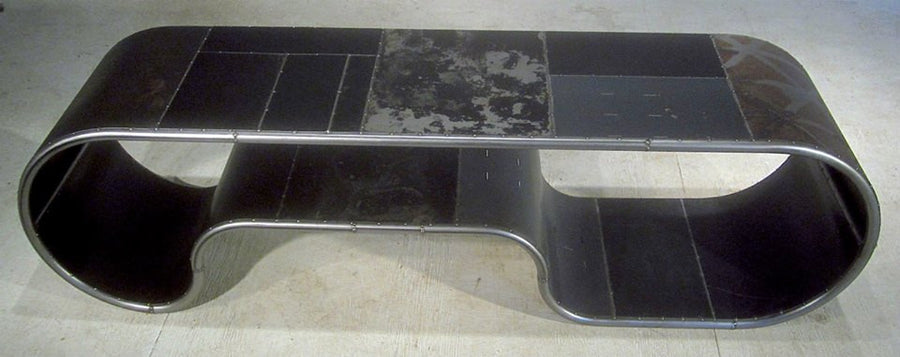 Mongoloid Reclaimed Metal Bench or Table