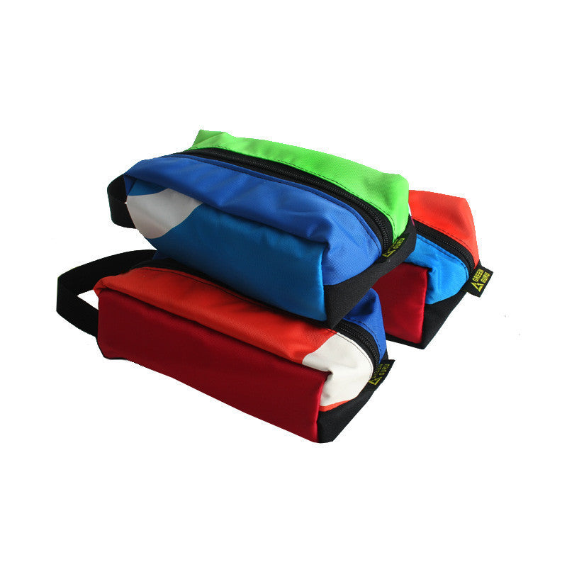 Medium Multi-Color Upcycled Travel Kit