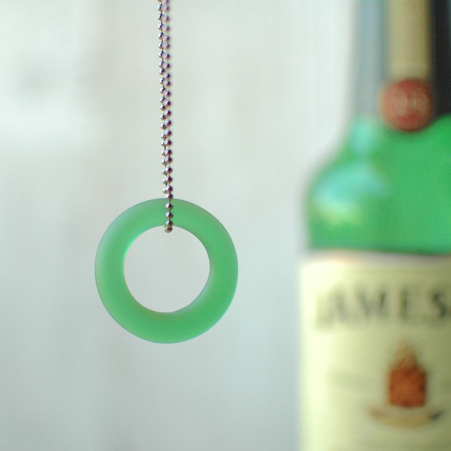 Jameson Single Shot Sea Glass Necklace