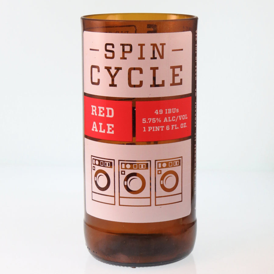 NoLi Spin Cycle Beer Bottle Glass
