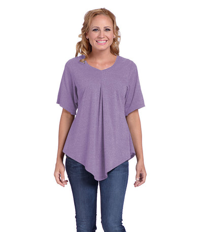 Pansy Women's Eco-Friendly Top - Lilac