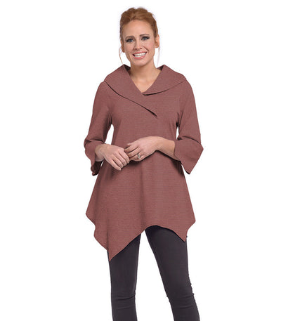 Paradiso Tunic Eco-Friendly Top - Cinnamon