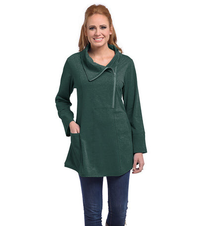 Petunia Tunic Eco-Friendly Top - Moss
