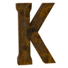 Reclaimed Tin Letter K