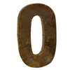 Reclaimed Tin Letter O