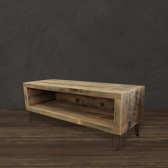 "Reclaimed Wood 36"" Media Console"