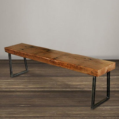 "Atlas Reclaimed Wood 36"" Bench"