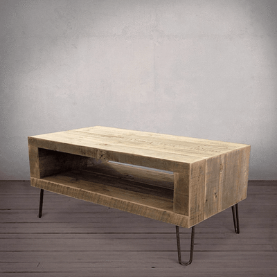 Coffee Table With Open Storage