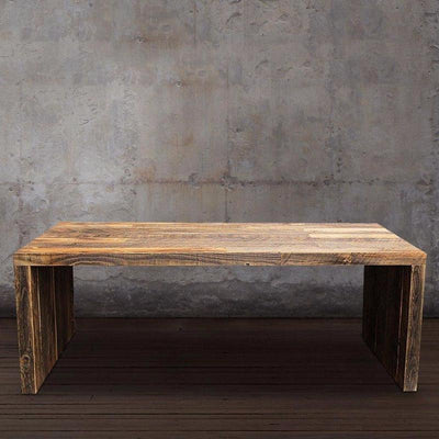 Reclaimed Wood Coffee Table, All Wood Boards