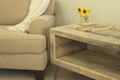 Reclaimed Wood Rectangular Media Console