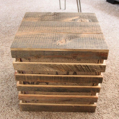 Reclaimed Wood Speaker Box