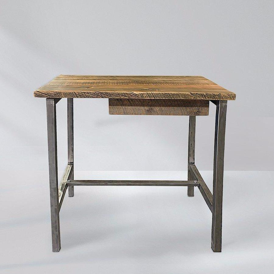 Reclaimed Wood and Metal Studio Office Desk