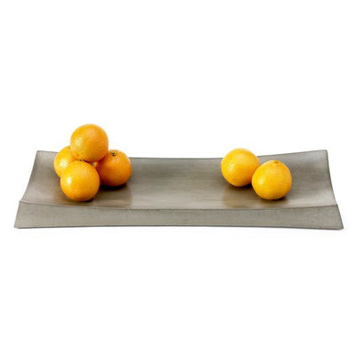 Grey Recycled Concrete Simple Tray
