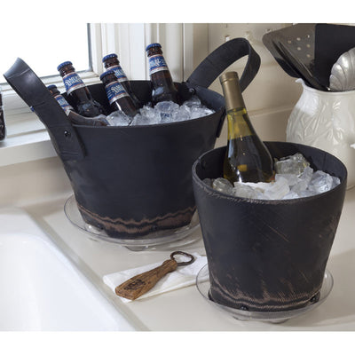 Recycled Rubber Ice Buckets