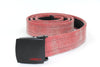 Reclaimed Fire Hose Red Belt