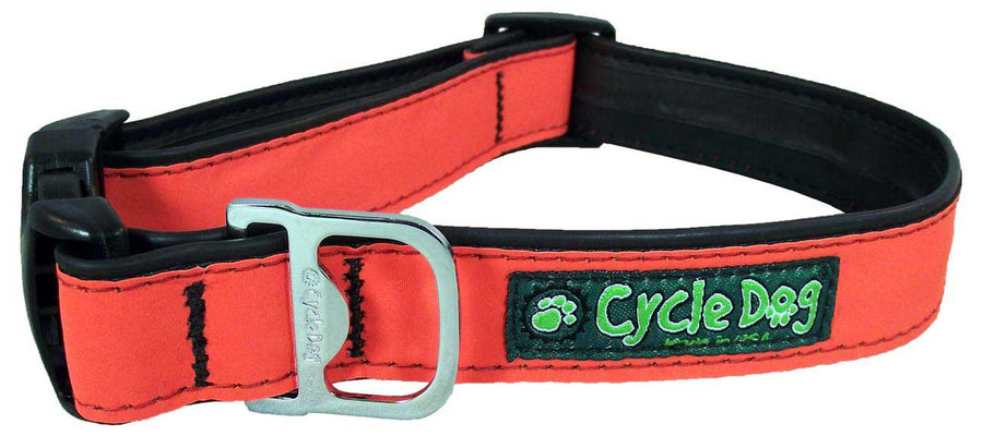 Orange MAX Reflective Dog Collar