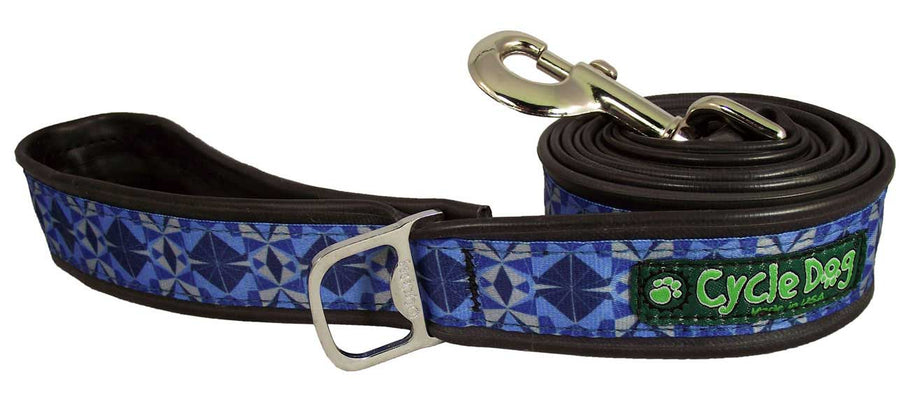 Blue Kaleidoscope Dog Leash
