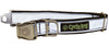 Silver MAX Reflective Dog Collar