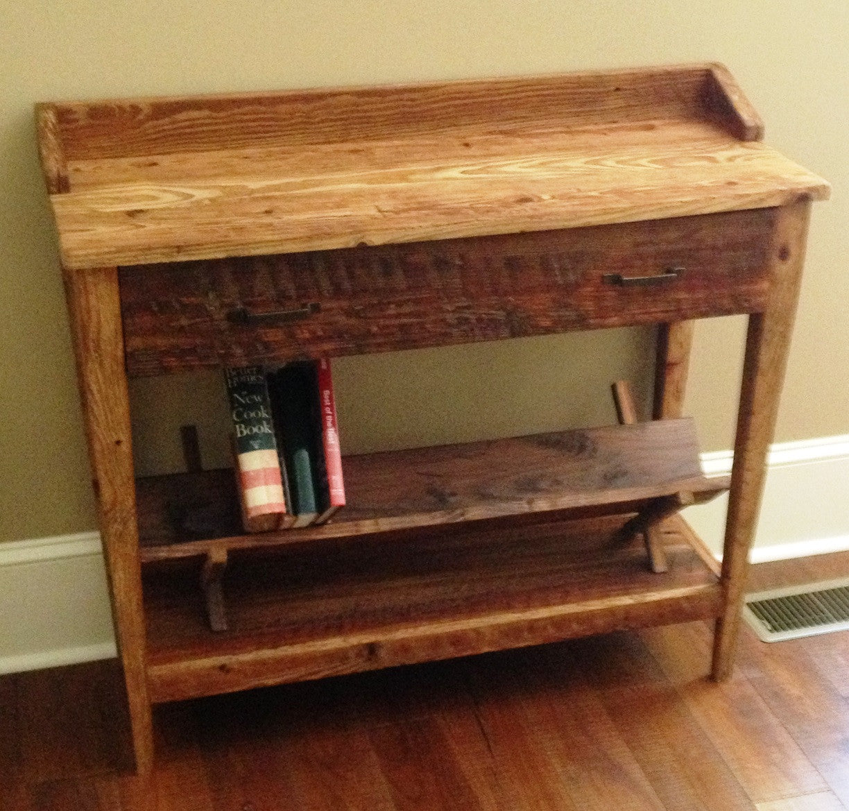small diy this that entryway perfect leg console way entry table is a for hairpin create spaces