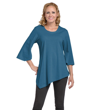 Salvia Women's Eco-Friendly Top - Sapphire/Tide