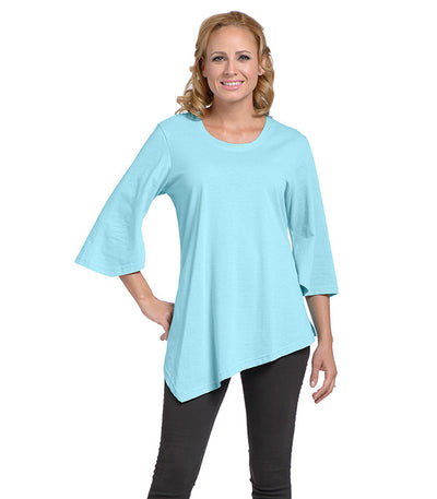Salvia Women's Eco-Friendly Top - Turquoise