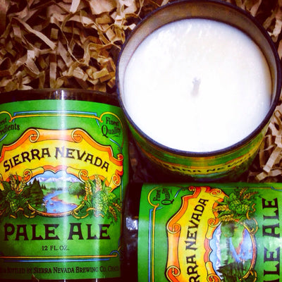 Sierra Nevada Beer Bottle Candles